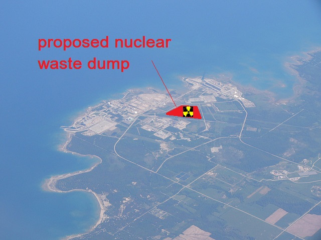 80 Groups Urge Canada: Reject Great Lakes Nuke Dump!