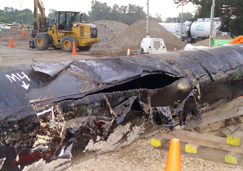 Enbridge kalamazoo pipeline gash