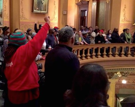 Citizen Power Demonstrated in Lansing