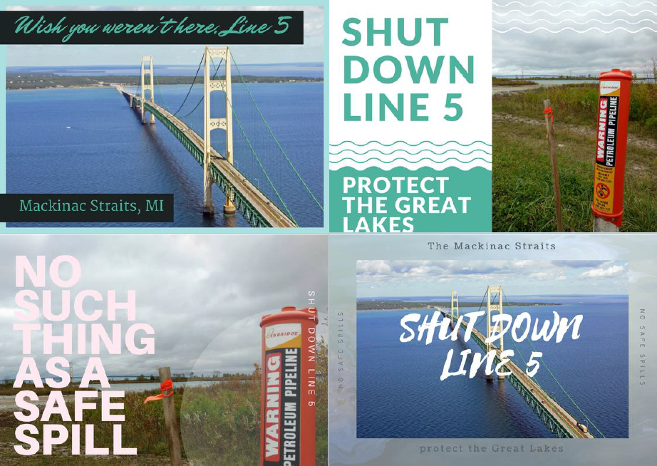 Line 5 Postcard Series