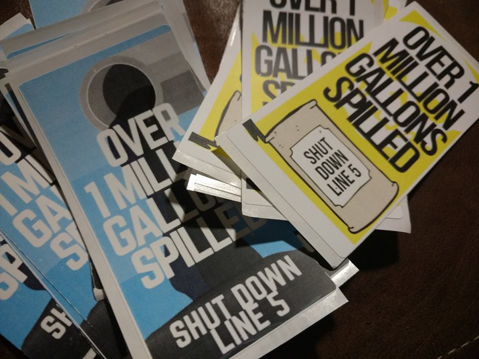 print your own line 5 stickers citizens for alternatives to